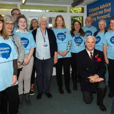 Citizens Advice welcomes clients to new look service in Ringwood